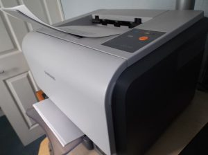 Color Laser Print Printer
