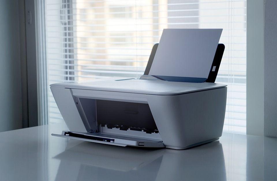 Machine Printing Printer Print Office Scanner