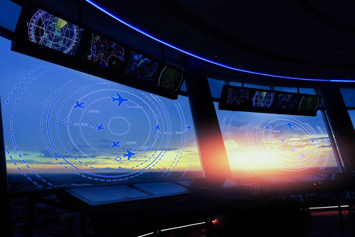 Monitor do kontroli lotów – opis urządzenia